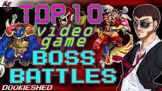 Top 10 Video Game Boss Battles!