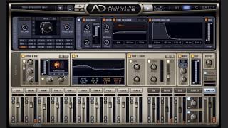 La construction d'un beat avec Addictive Drums 2