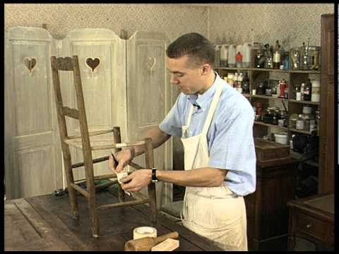 restauration des meubles anciens youtube. Black Bedroom Furniture Sets. Home Design Ideas