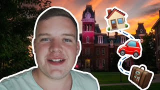 COLLEGE MOVE-IN VLOG AT WVU 🏡💛💙 MY WVU LIFE VLOG