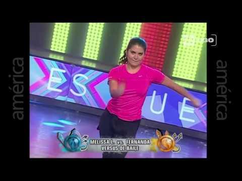 Versus de Baile entre Melissa Loza y Fernanda - Esto es Guerra - 10/08/2015