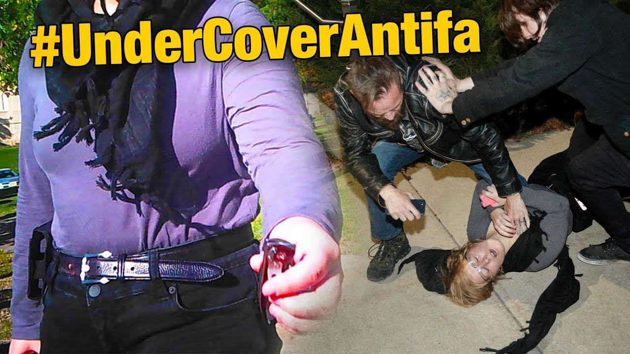 Image result for UNDERCOVER IN ANTIFA: Their Tactics and Media Support Exposed!