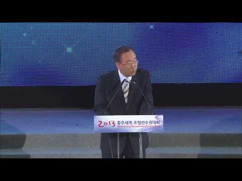UN's Ban Ki-moon applauds the FISA - WWF Clean Water Alliance