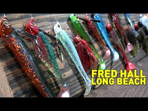 Behind the chaos fred hall fishing tackle show long for Chaos fishing rods