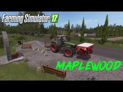 FS17 Maplewood ¦ Timelapse EP1 ¦ Seeding Wheat and mowing some grass