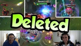 GRAGAS INSTANT TRIPLE FT. APHROMOO   TRICK2G CC CHAINED   MAOKAI W - LoL Funny Stream Moments #113
