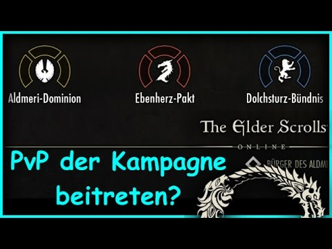 ESO Guide PvP BEITRETEN KAMPAGNE ALLIANZ KRIEG The elder scrolls Online German