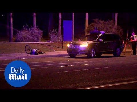 Uber self-driving vehicle strikes and kills Arizona pedestrian - Daily Mail