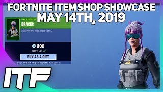 Fortnite Item Shop *NEW* BRACER SKIN! [May 14th, 2019] (Fortnite Battle Royale)