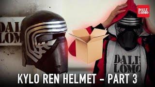 How to make Kylo Ren Helmet Part 3 - Details & Paint | DIY Star Wars Costume