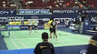 2010 Malaysia Super Series - Chooi/Pang [MAS] vs Ng/Lee [CAN] - MD R128 G2 (Pt 2) & G3