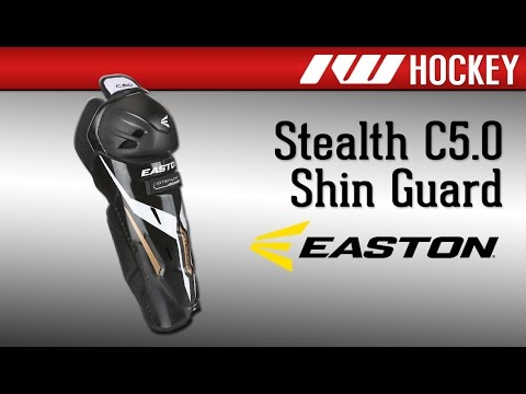 Easton Stealth C5.0 Hockey Shin Guard Review