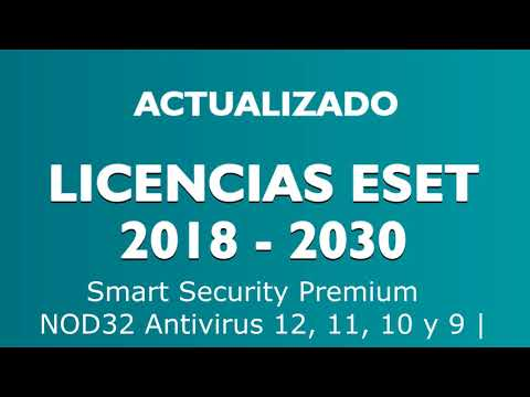 Eset Nod 32 antivirus licencia a 2020 fácil y rápido ...