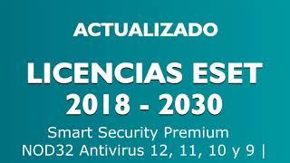 Licencias ESET Smart Security Premium, NOD32 y ESET Internet Security 12, 11, 10 y 9