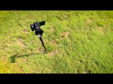 The Self Filmer's Life Saver - Fourth Arrow Monopod Stake