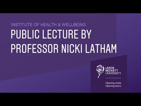 Public Lecture by Professor Nicki Latham