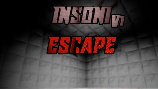 Roblox InSOnl escape but I escaped epicly