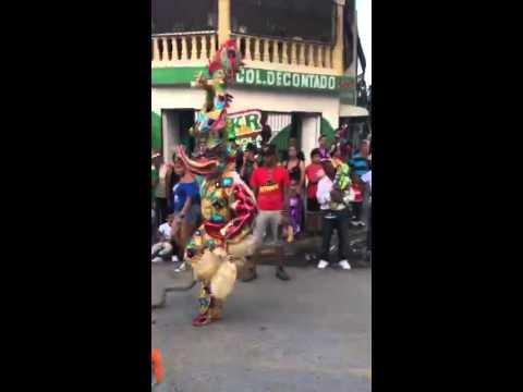 Grupo de lechones los Joyeros de santiago 2015 ( carnaval de santiago ) junior alexander cruz
