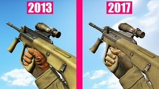 Counter-Strike Global Offensive Guns Reload Animations OLD vs NEW