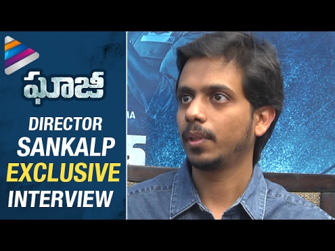 Ghazi Director Sankalp about Chiranjeevi, Amitabh Bachchan and Rana | Sankalp Exclusive Interview