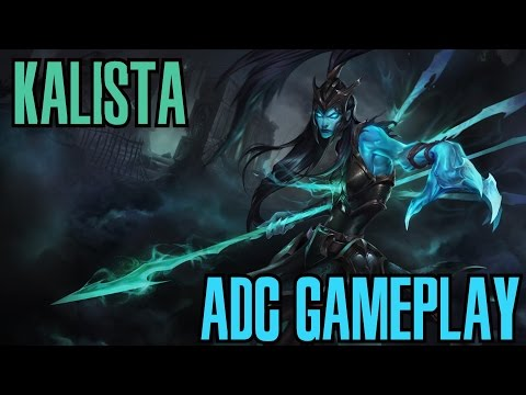 League of Legends - Kalista ADC Gameplay - WHEPA MONSTRO [PT-BR]