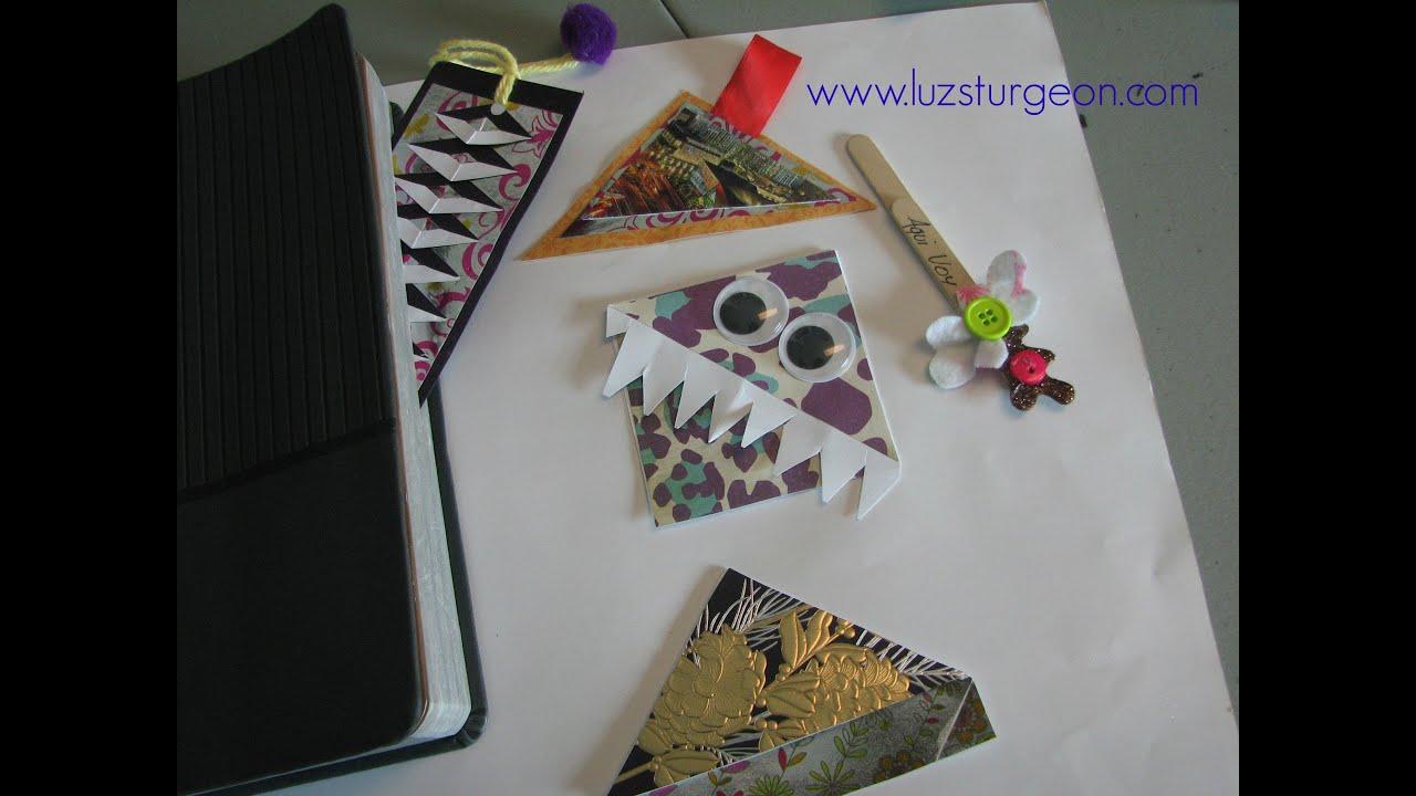 Manualidades para regalar en navidad separadores de for Libros para regalar