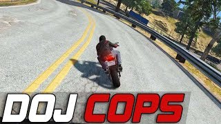 Dept. of Justice Cops #294 - Country Back Roads (Civilian)