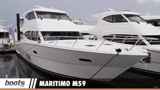 Maritimo M59: First Look Video Sponsored by United Marine Underwriters