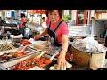 부산 분식맛집 (떡볶이, 어묵, 만두, 김밥, 순대) / Popular snacks in the Korea market - korean street food