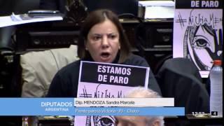 Diputada Sandra Mendoza -