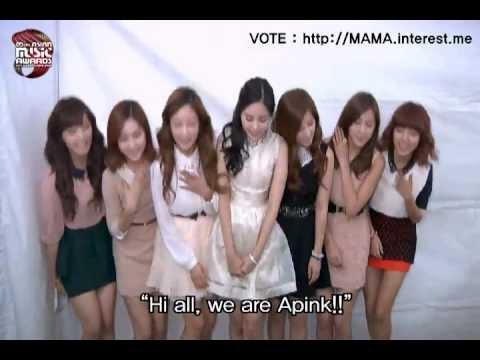 2012 Mnet Asian Music Awards  A pink
