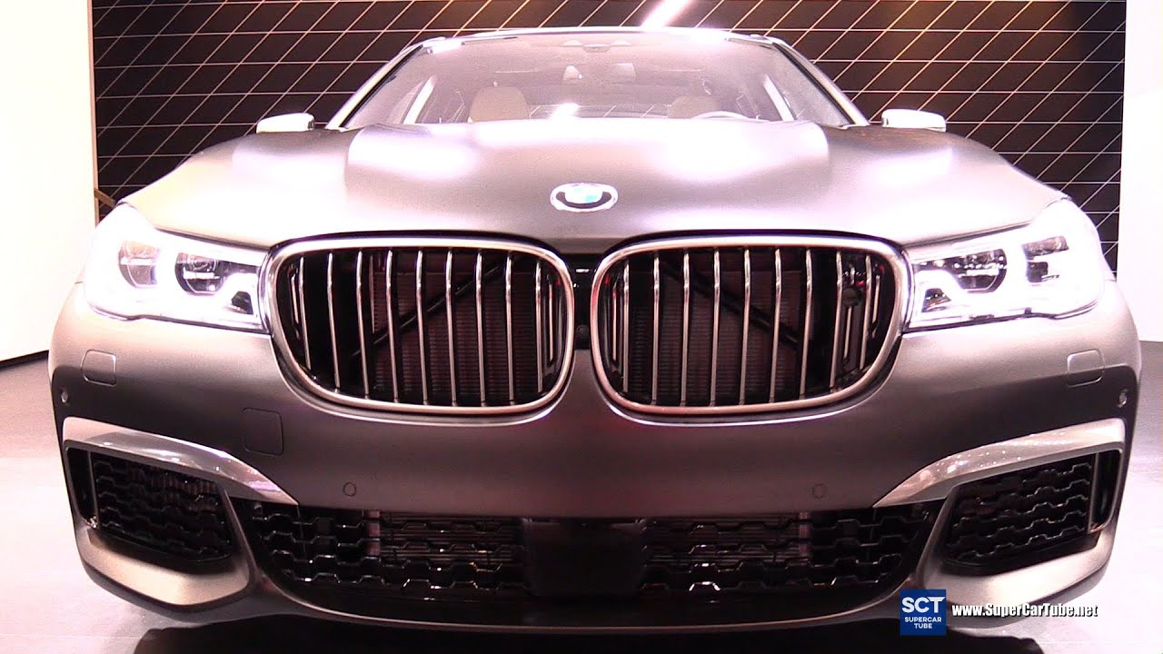 2017 bmw 7 series m760i xdrive exterior and interior walkaround 2016 new york auto show. Black Bedroom Furniture Sets. Home Design Ideas