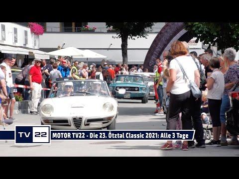 MOTOR TV22: Alle 3 Tage der 23. Ötztal Classic 2021