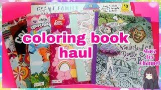 Coloring Book Haul / flip through ????