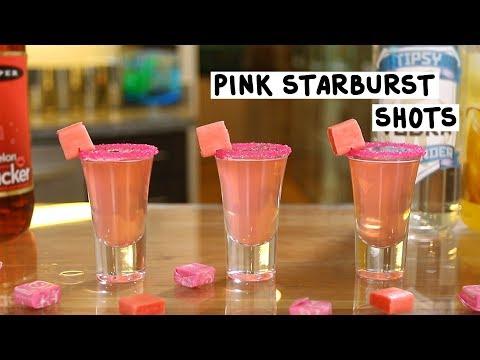 Pink Starburst Shots