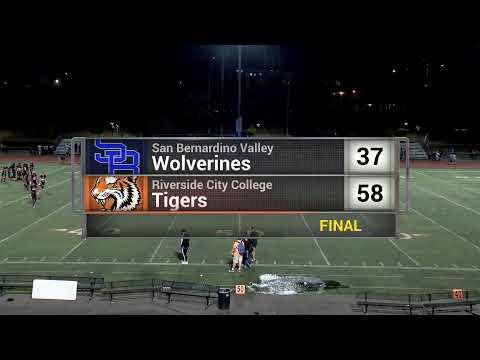 RiversideTV  College Football - Riverside City vs San Bernardino Valley