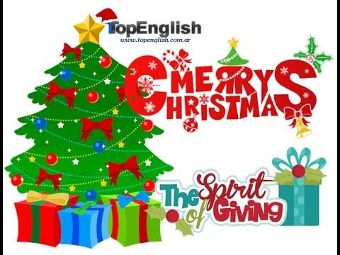 CHRISTMAS message Top English - YouTube