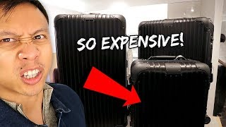 I Bought New Luxury Suitcases... You Won't Believe the Price | Vlog #554