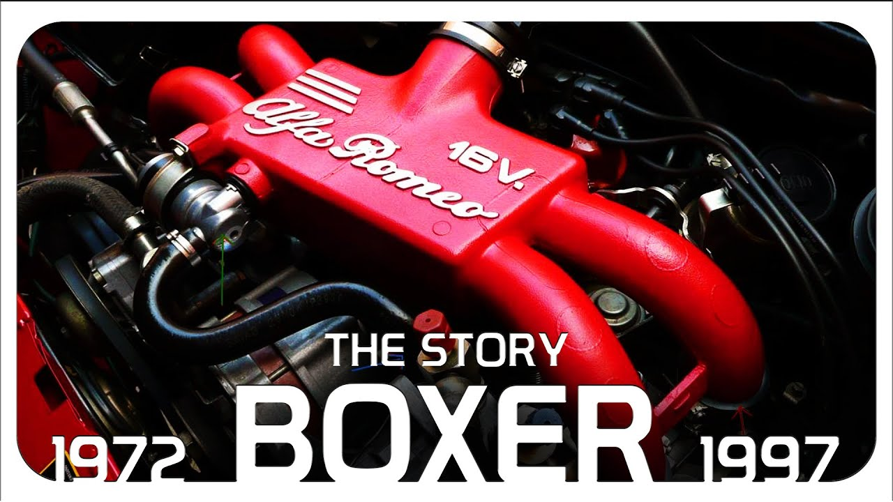 "The Story Of The Alfa Romeo ""Boxer"" Engine"