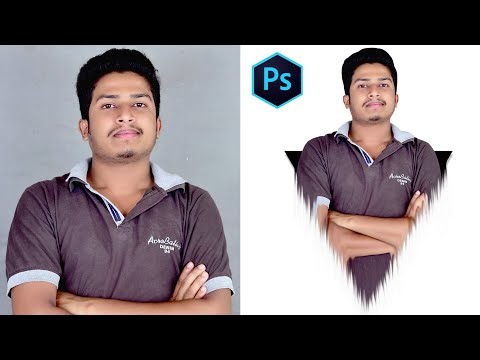 How To Create Triangle Pop Out Portrait Effect Photoshop CC IN Hindi Art Balaghat