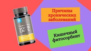 Очищение организма Кишечный фитосорбент Сибирское здоровье продукция