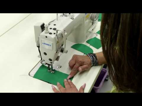 How To:  Use an Industrial Sewing Machine