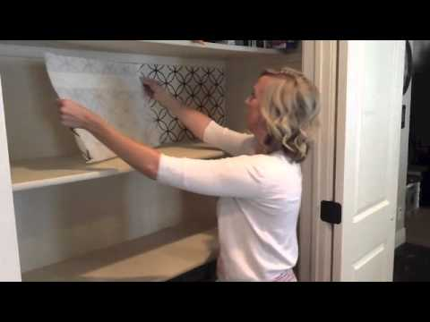 Kitchen Backsplash Vinyl how to apply vinyl backsplash - youtube