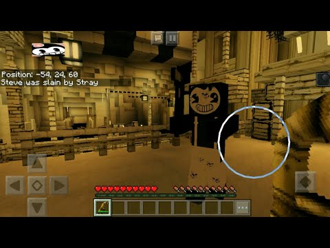 Sammy From Bendy And The Ink Machine Boss Fight In Minecraft [MCPE]