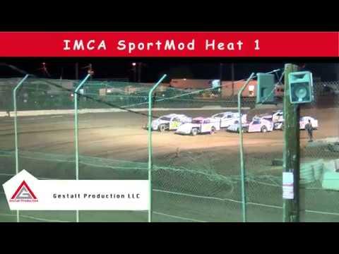 Canyon Speedway Park IMCA Sport Mod Heat  September 14 2019
