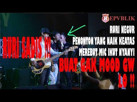 Lo buat mood gw ilang, Teguran Ruri ke penonton ke stage merebut mic..Sadis!! ( Batang Part 2)