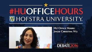 Media and Entertainment in Debate 2016: HU Office Hours with Jingsi Christina Wu