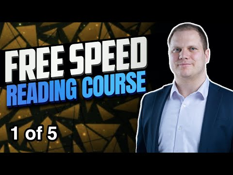 Learn To Speed Read Youtube