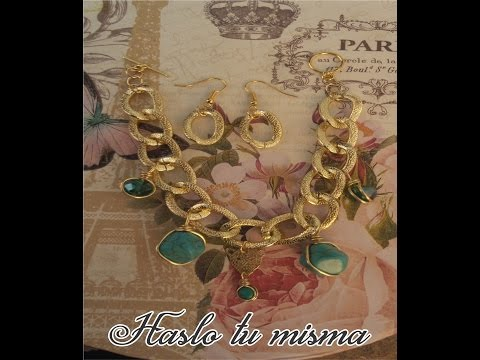Pulsera con Aretes  Bisuteria fina. ( Bracelet with Earrings Fine jewelery.)