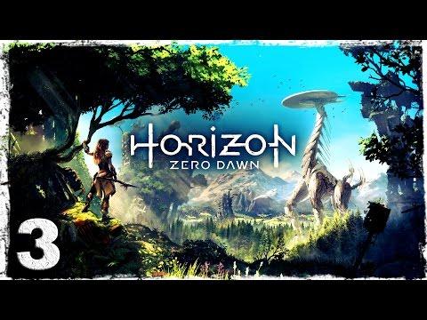 Смотреть прохождение игры [PS4] Horizon Zero Dawn. #3: Падальщики.